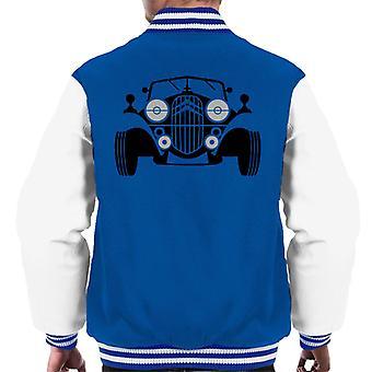 Citro n Vintage Traction Sketch Men's Varsity Jacket
