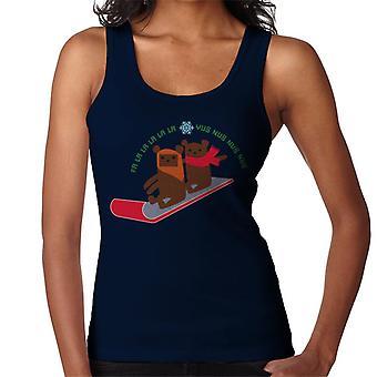 Star Wars Christmas Ewok Sledge Women's Vest