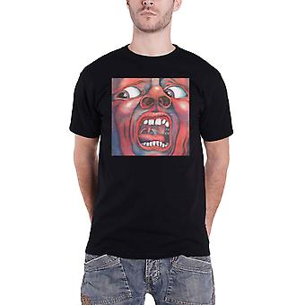 King Crimson T Shirt In The Court Of The Crimson King new Official Mens Black