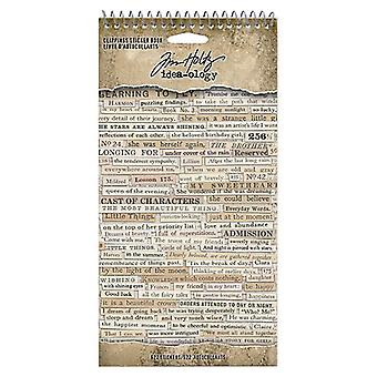 Idea-ology Tim Holtz Clipping Autocolante Carte