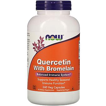 Now Foods, Quercetin with Bromelain, 240 Veg Capsules