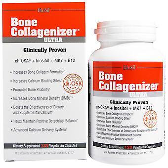 BioSil by Natural Factors, Biosil, Bone Collagenizer Ultra, 120 Vegetarian Capsu