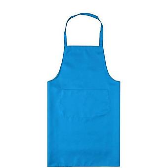 Polyester Classic Design Work Kitchen Apron With Pocket