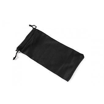 Eyeglass case Unisex fabric black (CWI1399)