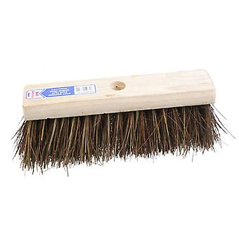 Faithfull Flat Broom Stiff Bassine / Cane 325mm (13in) FAIBRBC13FL