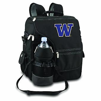Turismo - Black (U Of Washington Huskies) Digital Print Backpack