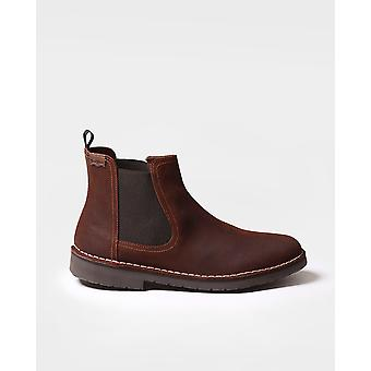 Toni Pons - Ankle boot för män gjorda av mocka - JOEL-SW