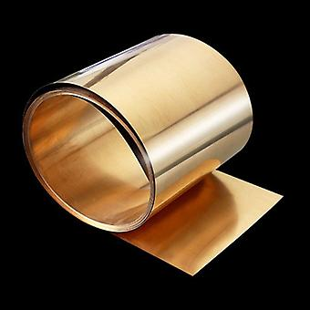0.1x200mm C17200 Beryllium Bronzer Strip Foil Sheet Industry Diy Experiment Copper Sheet