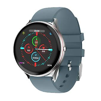 Lige Red Line Smartwatch Smartband Smartphone Fitness Sport Activity Tracker Watch IPS iOS Android iPhone Samsung Huawei Blue