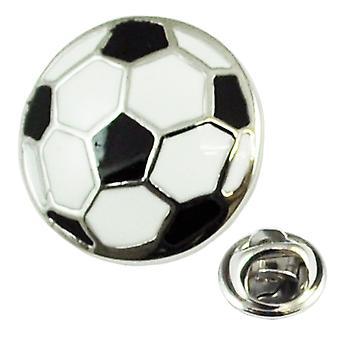 Δεσμοί Πλανήτης Μαύρο & Λευκό Ποδόσφαιρο Πέτο Pin Badge Σήμα