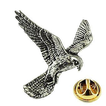 Kravaty Planet Kestrel Bird angličtina Pewter Klopa Pin Odznak
