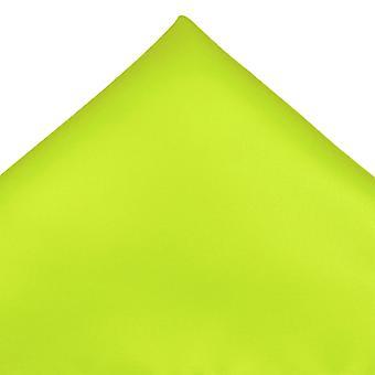 Ties Planet Plain Lime zöld szatén zsebkendő