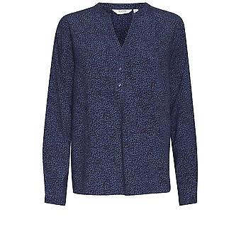 b.young Illa Blue Cu model Bluză