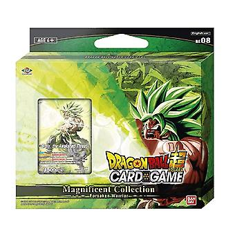 Dragon Ball Super CG Magnificent Collection Broly Forsaken Warrior Br Ver. BE08