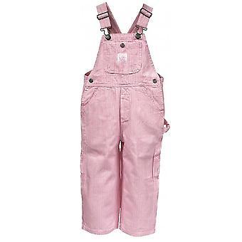 Schlüssel Mädchen dungarees - rosa Streifen