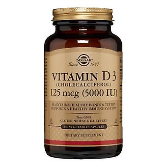 Solgar Vitamine D3 (Cholecalciferol), 5000 UI, 240 V Caps