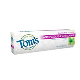 Tom's من معجون الأسنان الطبيعي ماين Antiplaque & تبييض, الشمر 5.5 أوقية