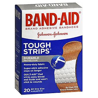 Band-Aid Tough-Strips Bandages All One Size, 20 ct