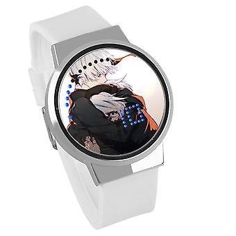 Impermeable Luminoso LED Digital Touch Reloj hijos - YoRHa #25