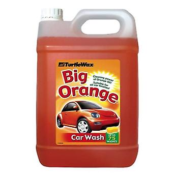 Turtle wax 52817 big orange car shampoo & wash 5l