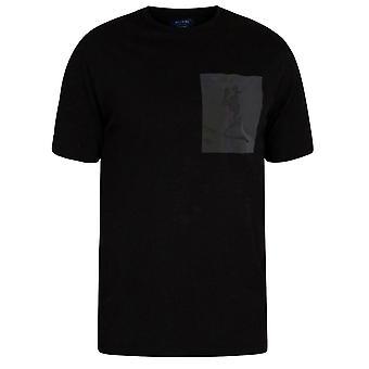 Religion 30tidn03 Irridescent Chest Logo T-shirt - Black