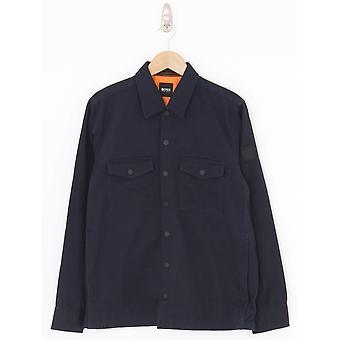 BOSS Casual Lovel 4 Overshirt - Dark Blue