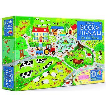 On The Farm Book & Jigsaw