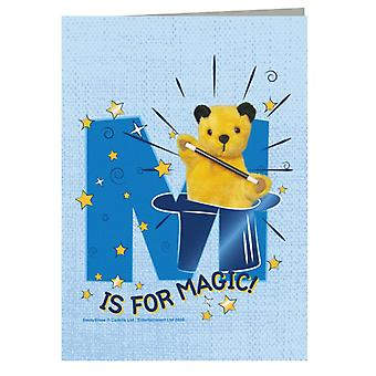 Sooty M Is For Magic Greeting Card