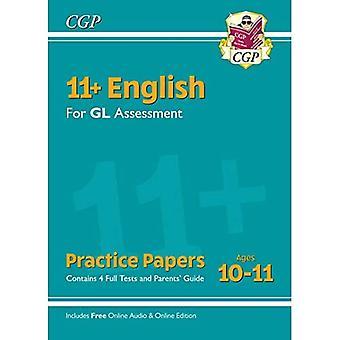 Nye 11 + GL engelsk praksis Papers-aldre 10-11 (med forældre ' Guide & online udgave)