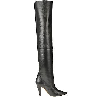Iro Ezgl180048 Women's Black Leather Boots