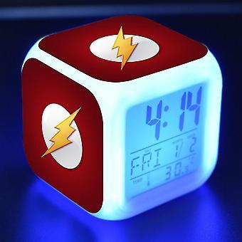 Colorful Multifunctional LED Children's Alarm Clock -The Flash Season 4 #3
