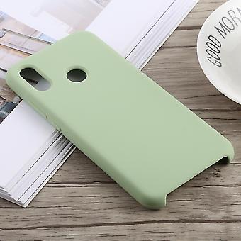 Gel de silice dropproof + boîtier de protection PC pour Huawei P20 Lite (Vert)