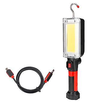 Led Work Light Cob Floodlight Oplaadbaar/onderhoudslamp/licht haakclip