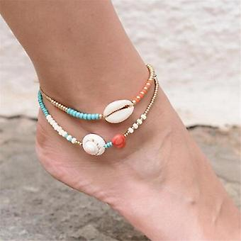 Vintage Boho Anklets Fashion, Gold Snake Chain Arrow, Charm Ankle Bracelet,