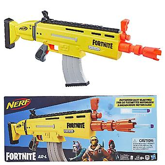 Nerf fortnite ar-l motorised nerf elite dart blaster -- motorised toy blaster, 20 official nerf fort