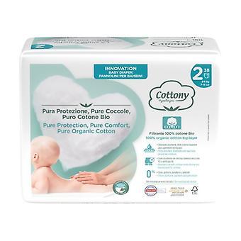 Mini diapers 38 units