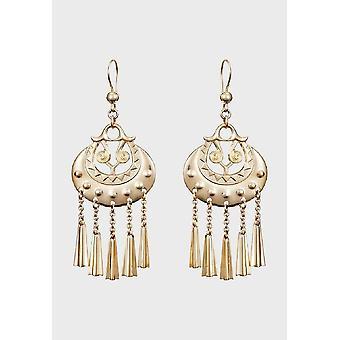 Kalevala Earrings Women's Moon goddess 14K Gold 1603031K