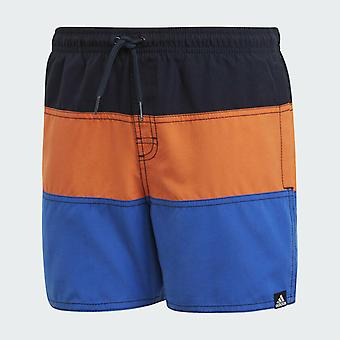Adidas Boys Colorblock Badeshorts