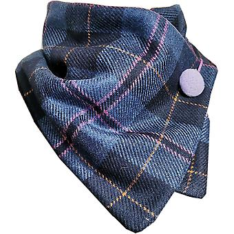 Navy and Lilac Tweed One Size by Sew Nice Neckwarmers
