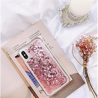 Para Samsung Galaxy S5 S6 S7 Edge S8 S9 S10 Plus Note 5 8 9 Quicksand Glitter