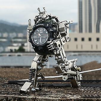Time Machine Men's Watch Stand DIY Mech Toy