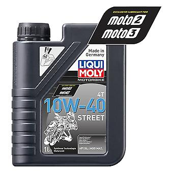 Liqui Moly 10W-40 4-Stroke Semi-Synthetic Racing 4-Stroke Engine Oil 1L