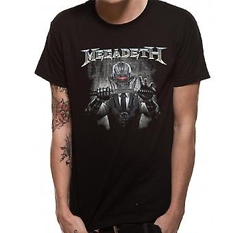 Megadeth Unisex Adults Rust In Peace Blade Design T-shirt