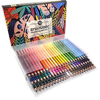 72 Colored Pencil Sets,for Coloring Books, Artist Drawing,water Soluble