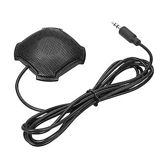 Docooler portable stereo omnidirectional microphone condenser mic 3.5mm connector for meeting busine
