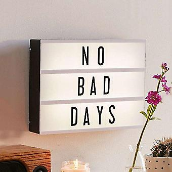 Diy Letters Led Light Box