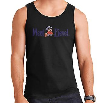 An American Tail Meet Fievel Mousekewitz Men's Vest
