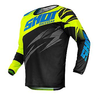 2020 Shot Devo MX Jersey Kids - Ventury Neon Yellow