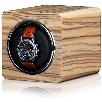 Watch Winder Box Automatic Accessories Display Mechanical Rotating Leather