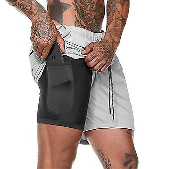 Double Layer Jogger Shorts